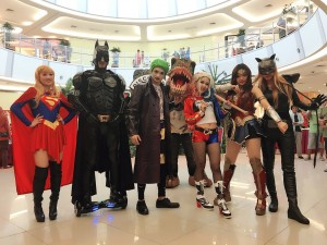 Super heroes cosplay and dancers in Malaysia/Singapore