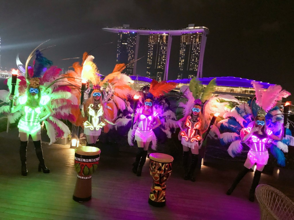 LED dancers with glamorous theme,unique performances provided in Singapore.Whatsapp :+60197710102.