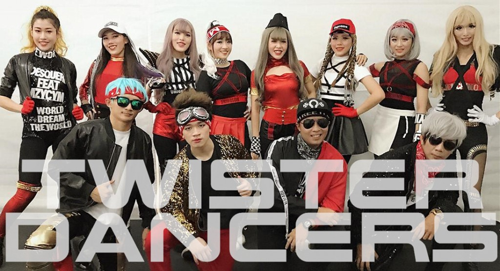 Energetic kpop dancers in Malaysia,Singapore.