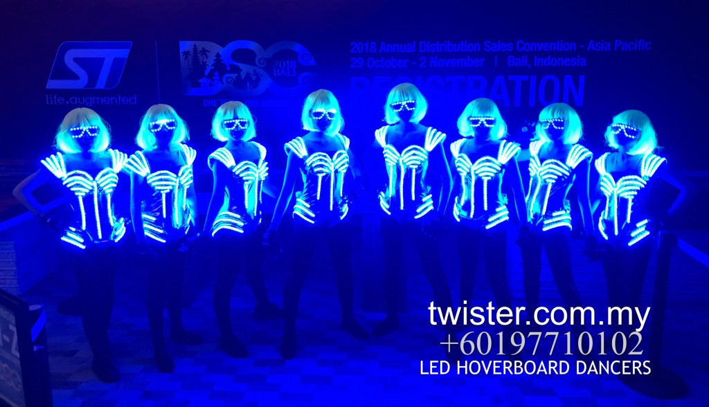 Malaysia LED and hoverboard dancers.Dance performances in Asia,wide range of LED theme performances,dancer company based in Malaysia.