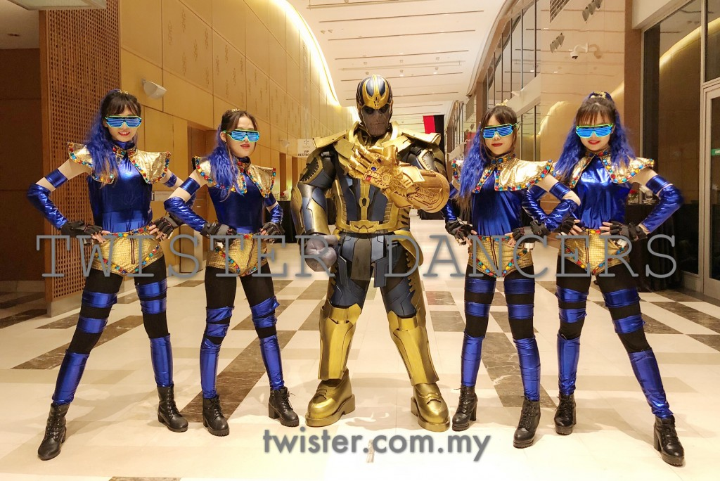Malaysia super heroes dance performances.Unique entertainment for your upcoming events in Singapore/Malaysia.Dance performances in Asia,wide range of theme performances,dancer company based in Malaysia.