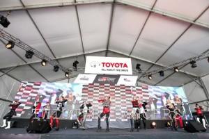 Twister dancers performing in TGR.